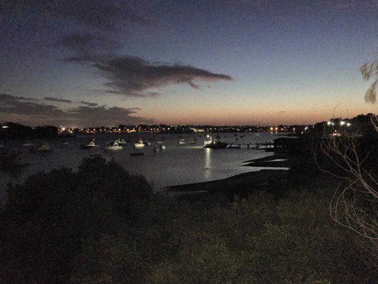 THE BAY AT NIGHT – WHERE WE RUN