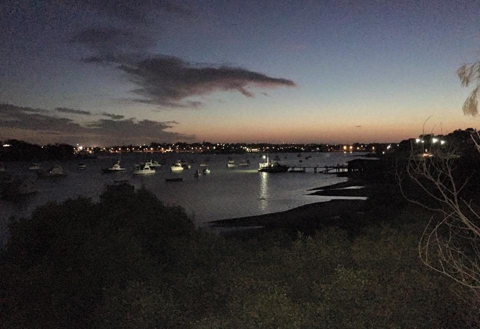 THE BAY AT NIGHT – WHERE WE RUN