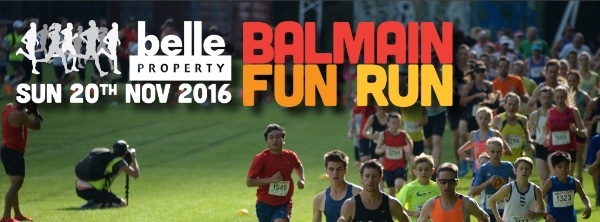 BALMAIN FUN RUN 2016